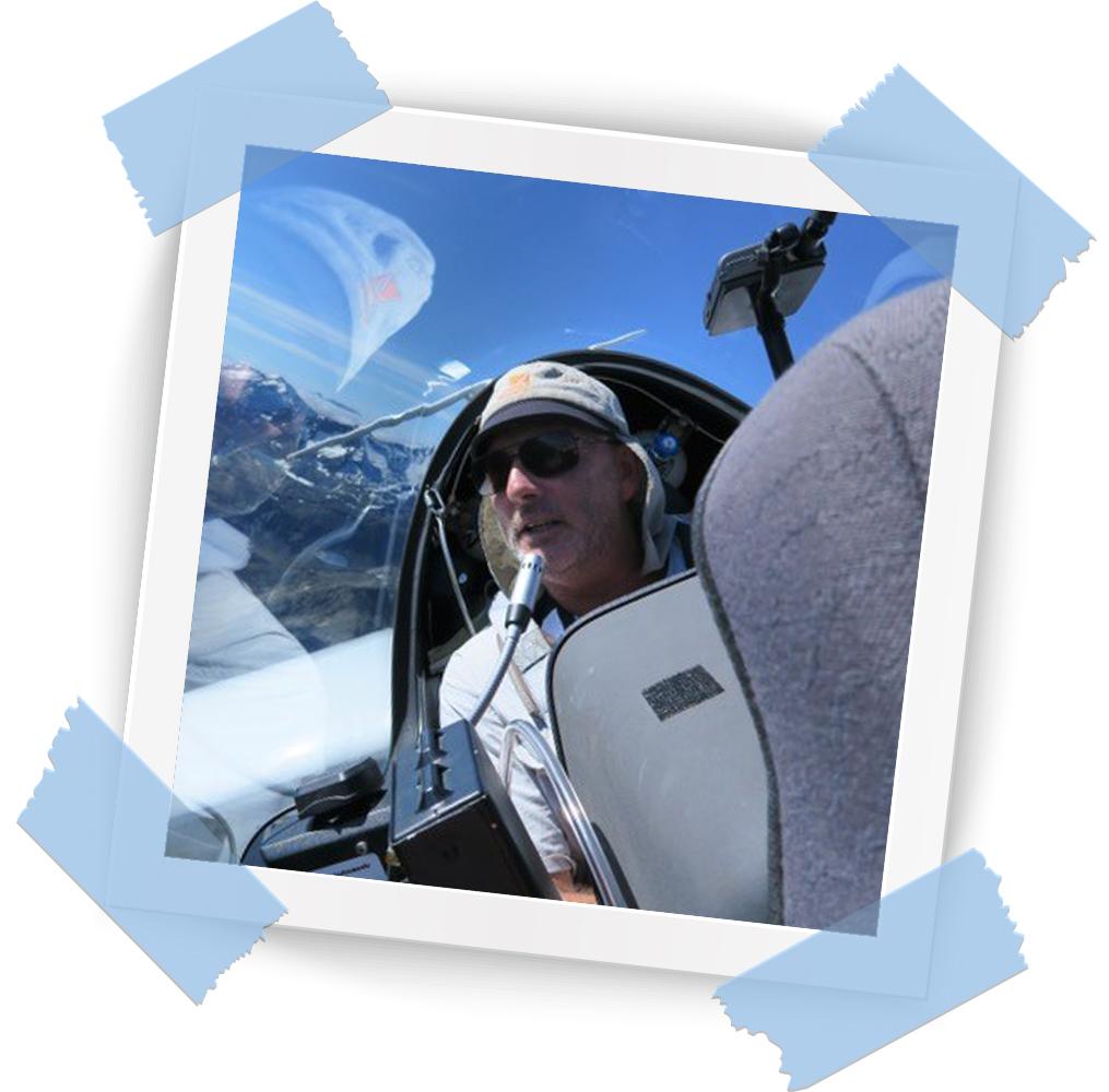G Dale Gliding Silver Medallist